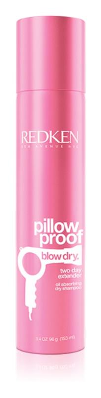 Redken Pillow Proof Blow Dry suchý šampón pre absorpciu prebytočného mazu a pre osvieženie vlasov