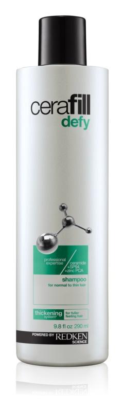 Redken Cerafill Defy shampoo per la densità dei capelli