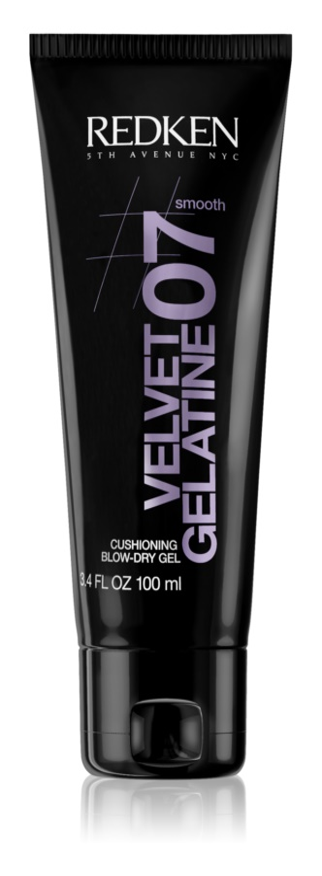 Redken Smooth Velvet Gelatine 07 gel pentru volum și strălucire, pentru păr uscat prin suflare