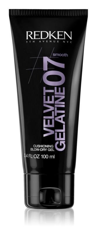 Redken Smooth Velvet Gelatine 07 gel pro podporu objemu a lesku vyfoukaných vlasů