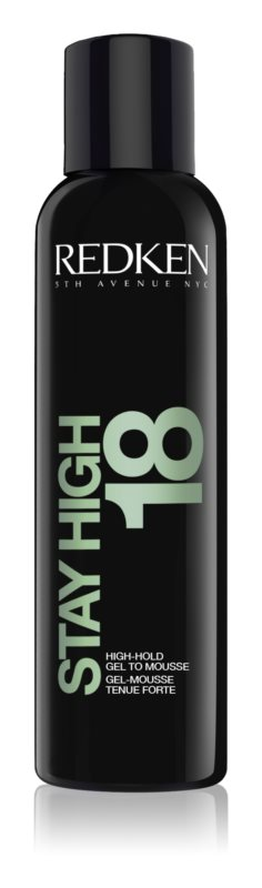 Redken Stay High 18 espuma em gel para dar volume