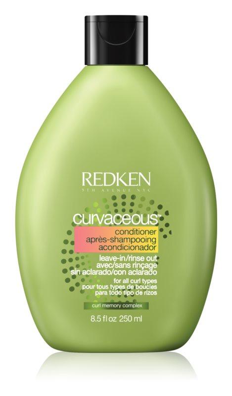 Redken Curvaceous odżywka do włosów kręconych i po  trwałej ondulacji