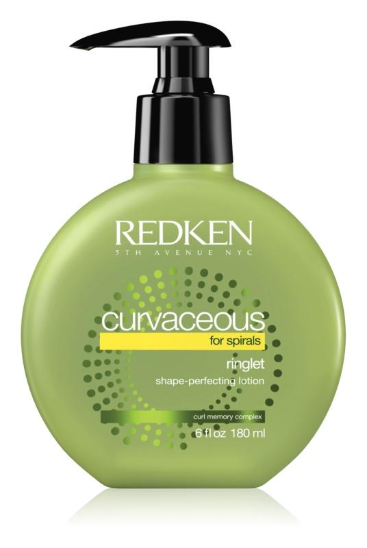 Redken Curvaceous leche fijadora para cabello ondulado y con permanente