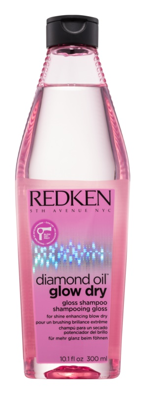 Redken Diamond Oil Glow Dry Gel Shampoo for Dull Hair