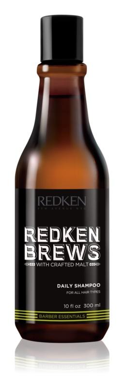 Redken Brews shampoing à usage quotidien