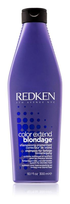 Redken Color Extend Blondage™ champú para neutralizar el tono amarillo