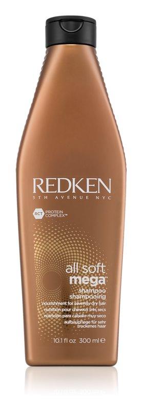 Redken All Soft reinigendes und nährendes Shampoo für trockenes Haar