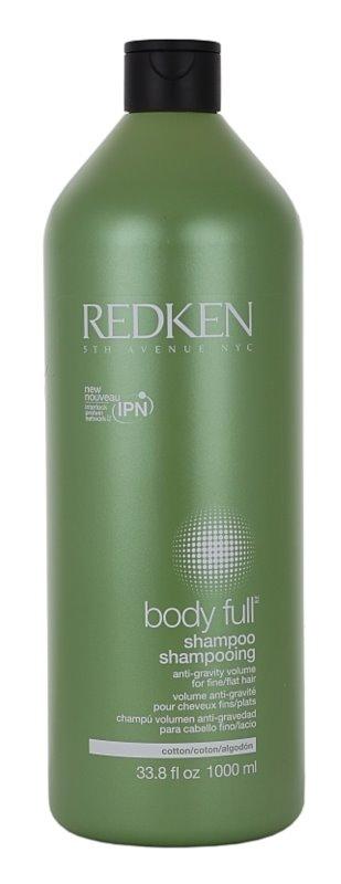 Redken Body Full šampón pre jemné vlasy bez objemu