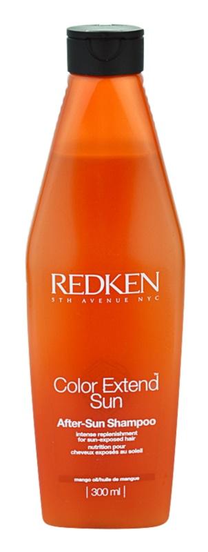 Redken Color Extend Sun sampon nap által károsult haj