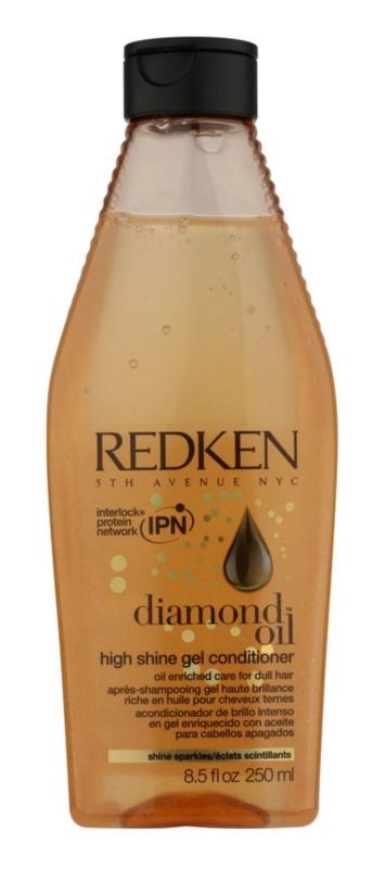 Redken Diamond Oil gélový kondicionér pre vlasy bez lesku