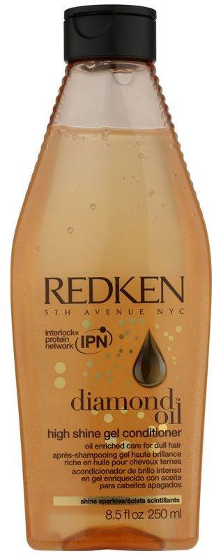 Redken Diamond Oil żelowa odżywka do matowych włosów