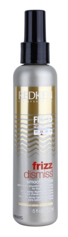 Redken Frizz Dismiss lehké uhlazující mléko pro uhlazení krepatějících se vlasů
