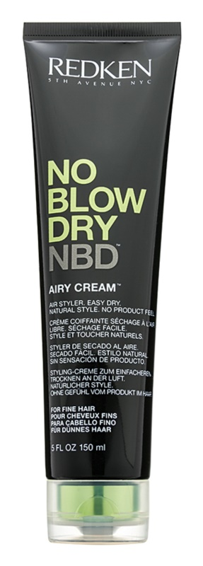 Redken No Blow Dry stylingový krém pre jemné vlasy s rýchloschnúcim efektom