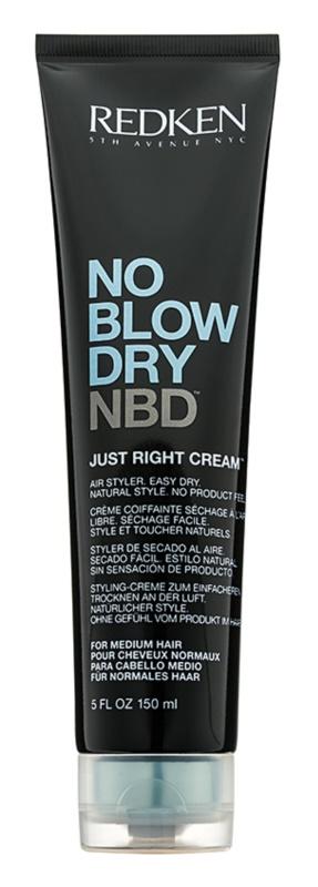 Redken No Blow Dry stiling krema s hitro sušečim učinkom