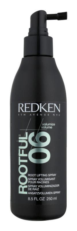 Redken Volumize Rootful 06 spray de cabelo para um volume máximo com efeito instantâneo