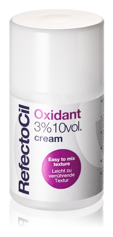 RefectoCil Eyelash and Eyebrow кремова активуюча емульсія 3 % 10 vol.