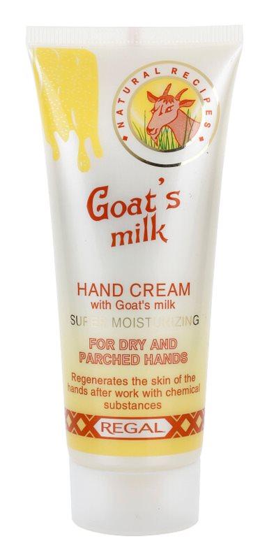 Regal Goat's Milk krém na ruce s kozím mlékem
