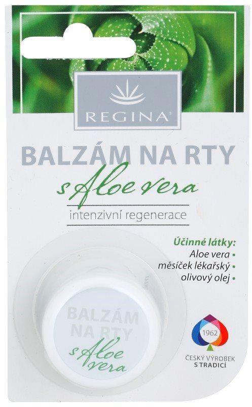 Regina Aloe Vera hydratačný balzam na pery s aloe vera