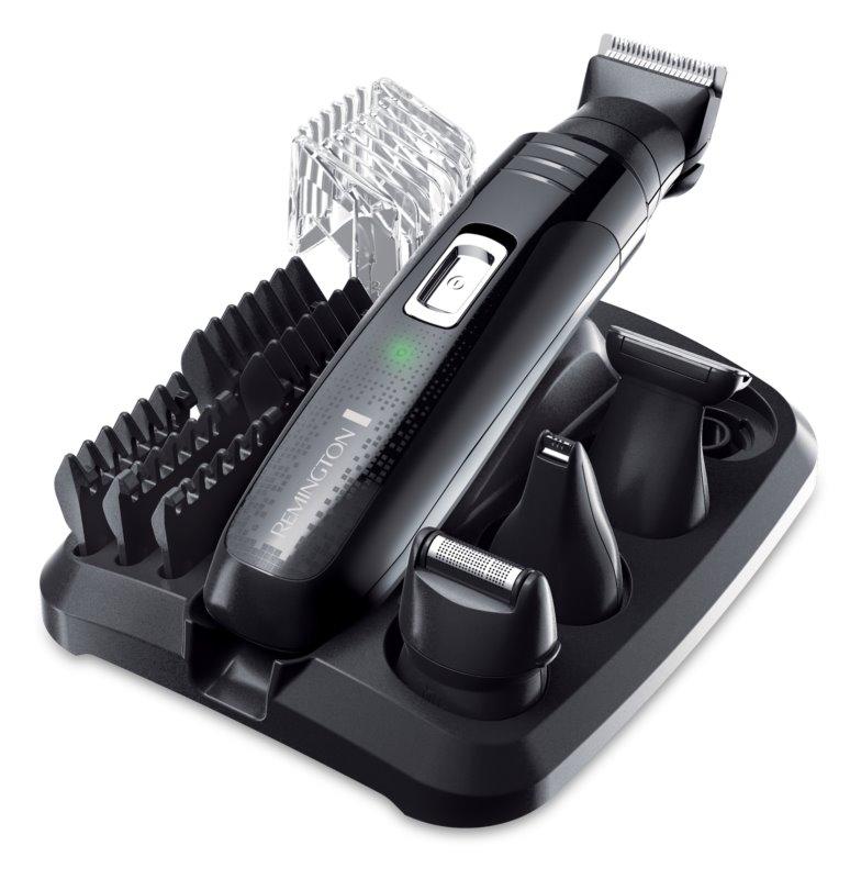 Remington Groom Kit  PG6130 set za prirezovanje dlačic na bradi in telesu