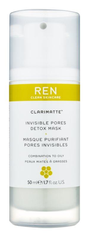 REN Clarimatte™ detoxikační maska pro mastnou a smíšenou pleť