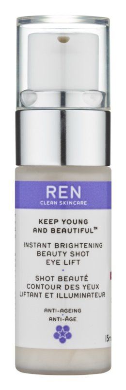REN Keep Young And Beautiful™ rozjasňující oční gel s liftingovým efektem
