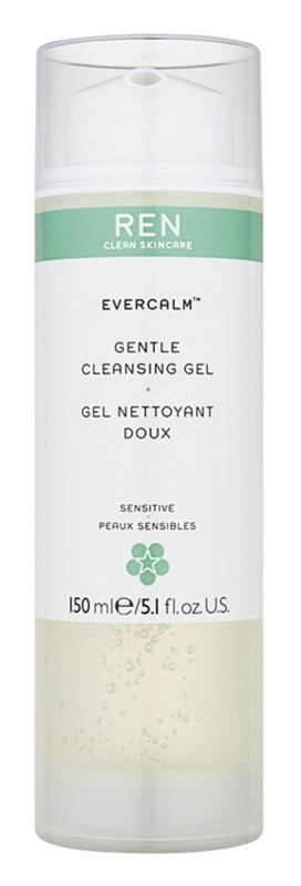 REN Evercalm gel de limpeza suave para pele sensível