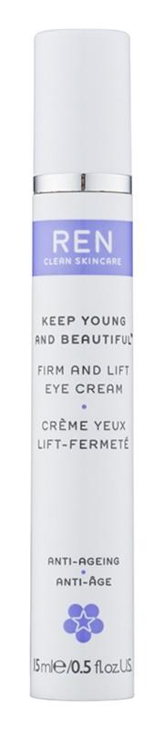 REN Keep Young And Beautiful™ zpevňující oční krém s liftingovým efektem