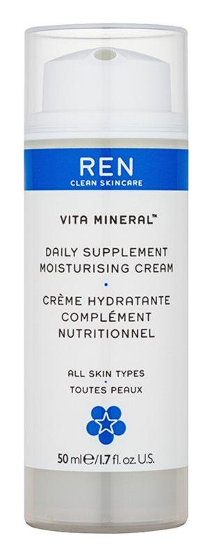 REN Vita Mineral denný hydratačný krém s vyživujúcim účinkom