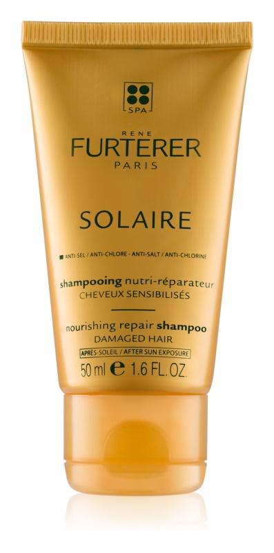 Rene Furterer Solaire champô nutritivo para cabelo danificado pelas ações do sol, cloro e sal
