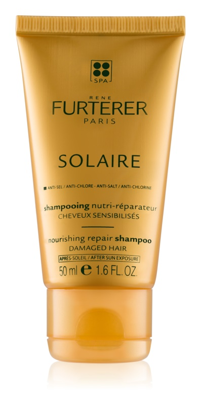 Rene Furterer Solaire Nourishing Shampoo for Hair Damaged by Chlorine, Sun & Salt