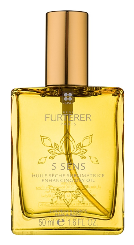 Rene Furterer 5 Sens posilňujúci suchý olej na telo a vlasy