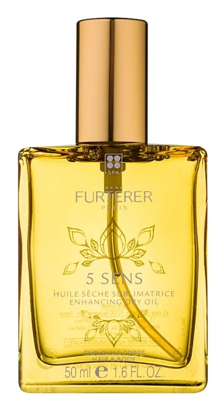 Rene Furterer 5 Sens posilující suchý olej na tělo a vlasy
