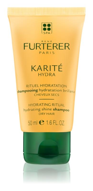 Rene Furterer Karité Hydra hydratační šampon pro lesk suchých a křehkých vlasů