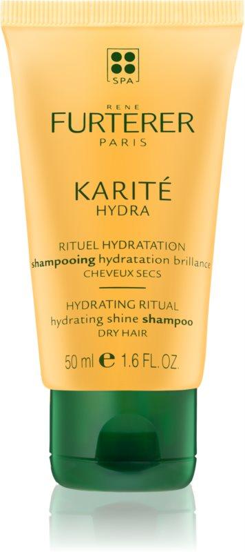 Rene Furterer Karité Hydra shampoo idratante per la brillantezza dei capelli secchi e fragili