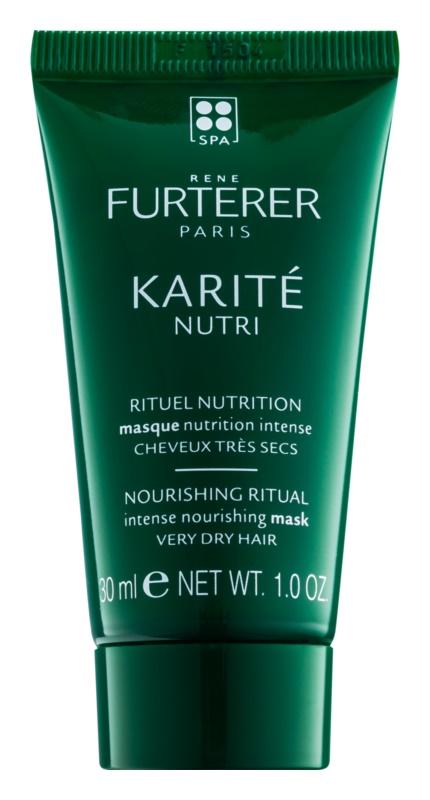 Rene Furterer Karité Nutri intenzivna hranilna maska za zelo suhe lase