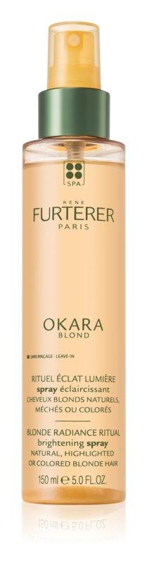 Rene Furterer Okara Blond rozjasňující sprej pro zvýraznění barevného odstínu