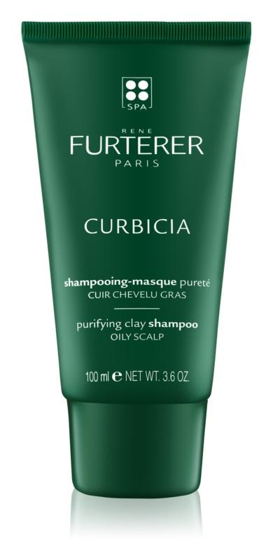 Rene Furterer Curbicia шампунь для жирної шкіри голови