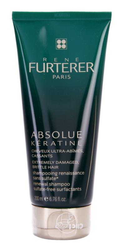 Rene Furterer Absolue Kératine obnovitveni šampon za ekstremno poškodovane lase