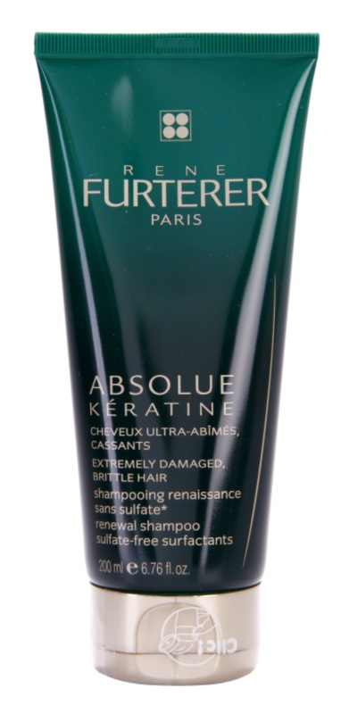 Rene Furterer Absolue Kératine Restoring Shampoo For Extremely Damaged Hair