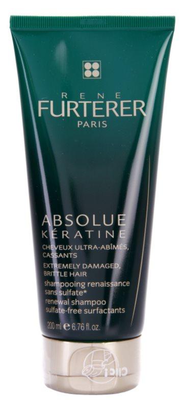 Rene Furterer Absolue Kératine szampon odbudowujący włosy do włosów ekstremalnie zniszczonych