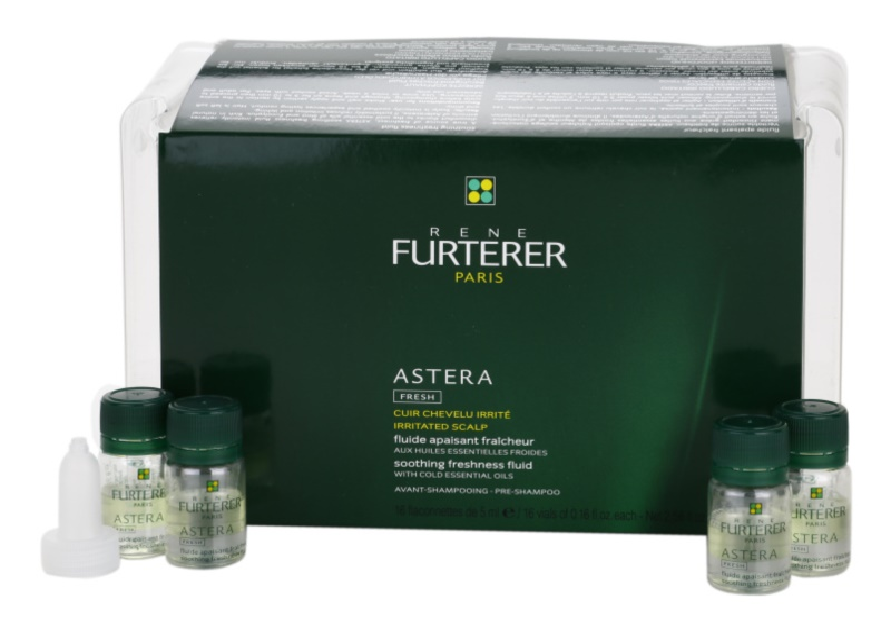 Rene Furterer Astera água calmante de cabelo para couro cabeludo irritado
