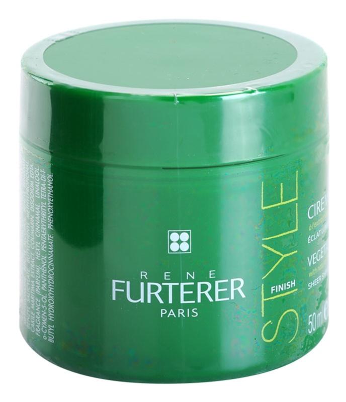 Rene Furterer Style Finish styling wax a tündöklő fényért