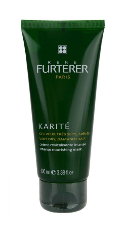 Rene Furterer Karité maseczka odżywcza do bardzo suchych i zniszczonych włosów