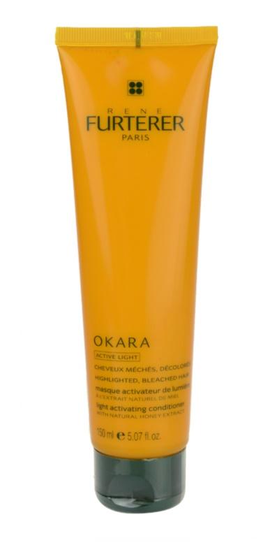 Rene Furterer Okara Active Light vyživující maska pro blond a melírované vlasy