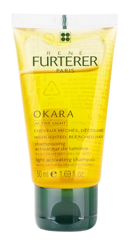 Rene Furterer Okara Active Light shampoo per capelli biondi