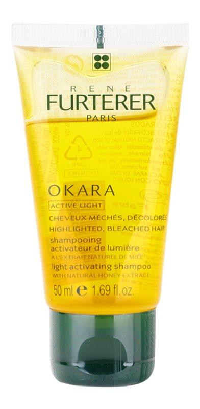 Rene Furterer Okara Active Light шампунь для освітленого волосся