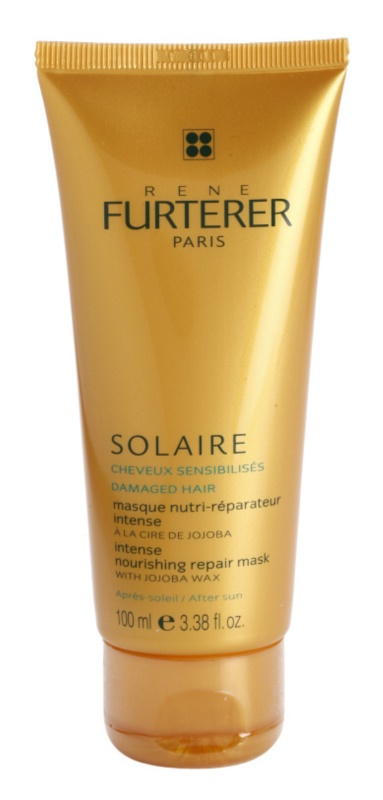 Rene Furterer Solaire Intensive Nourishing Mask for Hair Damaged by Chlorine, Sun & Salt