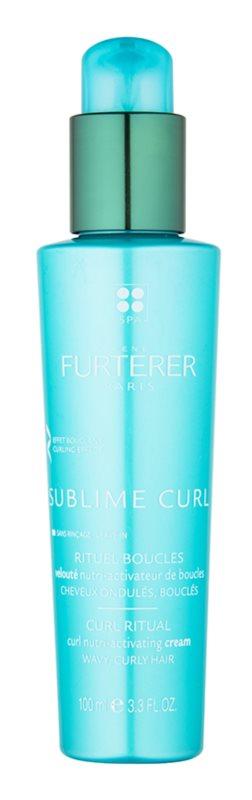 Rene Furterer Sublime Curl nega brez spiranja za valovite lase