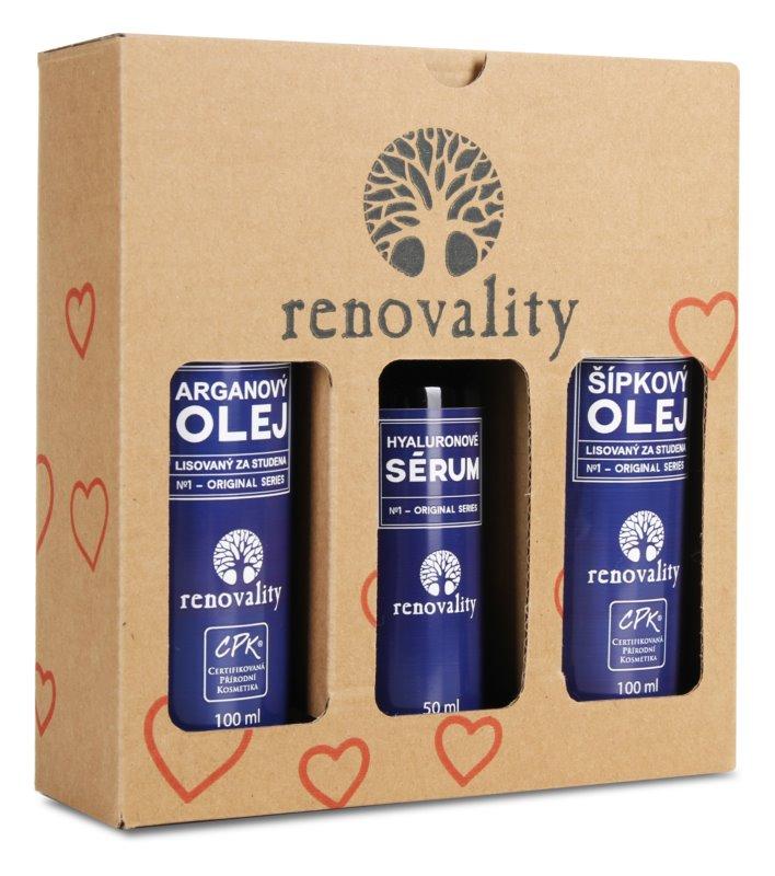 Renovality Original Series kozmetični set IV. (za suho kožo)