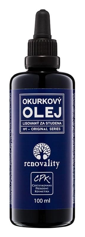 Renovality Original Series uhorkový olej lisovaný za studena